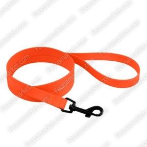 Поводок ACTIVE для собак водоотталкивающий с защитным полимерным покрытием Оранжевый 10мм152см