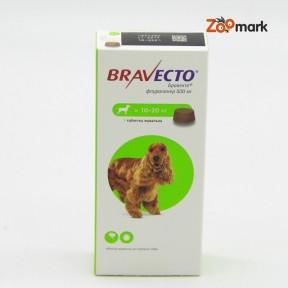 Таблетка Бравекто (Bravecto) для собак 10 - 20 кг