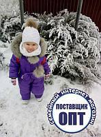 Зимний комбинезон на девочку 74 - 152 размеры, фото 1