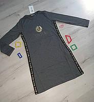 Платье  для девочек с длинным рукавом Tik-Tok  146- рост