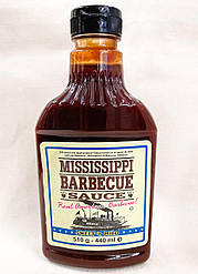 Mississippi Barbecue Sauce Sweet n Mild 440ml