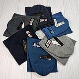 М 94073 Комплект  шапка двойная на флисе и баф для мальчиков, разние цвет (5-15 лет), фото 9