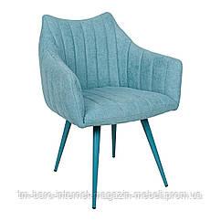 Кресло BONN (64*60*87 cm текстиль) бирюза New, Nicolas