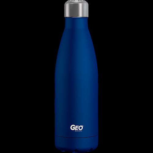 Нержавіюча пляшка/термос з покриттям, 0,5 л, Блакитна