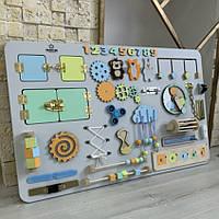 Бизибордразмер 80*50 Гигант. Развивающаяигровая доска  Busy board