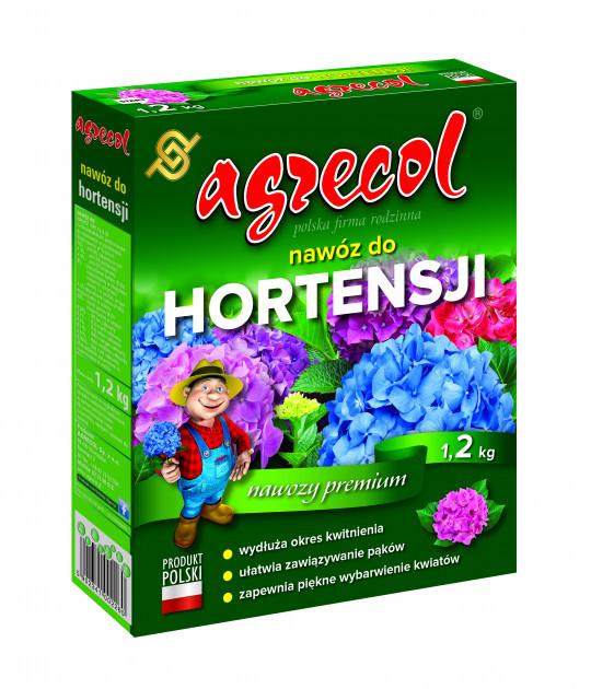 Удобрение Agrecol для гортензия 12-6-20 1,2 кг