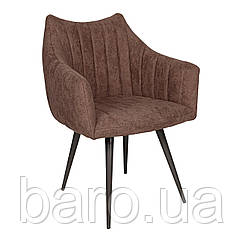 Кресло BONN (64*60*87 cm текстиль) коричневый New, Nicolas