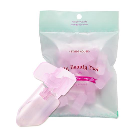 Клипсы для защиты окрашенных ногтей Etude House My Beauty Tool Nail Dry Covers 10 шт