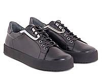 Кожаные женские туфли ETOR
