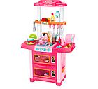 Детская звуковая кухня с циркуляцией воды розовая, фото 2
