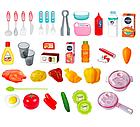 Детская звуковая кухня с циркуляцией воды розовая, фото 4