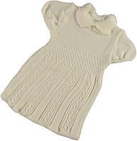 Детская одежда оптом.Платье вязаное р.3,4,5 лет.