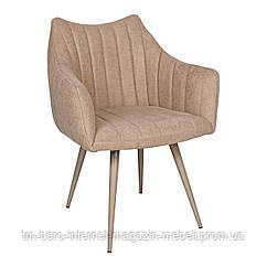 Кресло BONN (64*60*87 cm текстиль) кофейный New, Nicolas