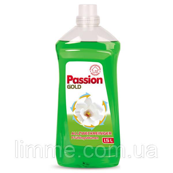 Універсальний миючий засіб для підлоги Passion Gold Fruhlingsblumen (зелений) 1,5 л.