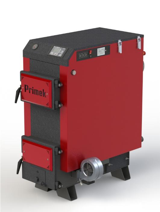 """Твердотопливный котел Kotlant Primek 17 кВт с электронной автоматикой """"TECH"""" с функцией ZPID"""