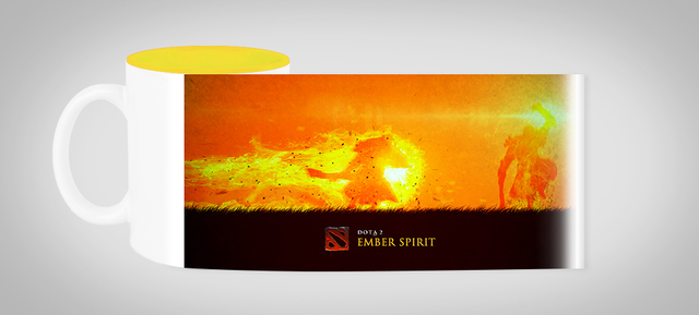 Кружка чашка Ember Spirit Dota