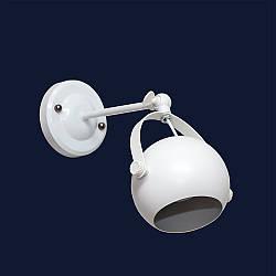 Світильник настінний і стельовий спот під змінну лампу GU10 колір білий Levistella&7521209-1A WH