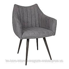 Кресло BONN (64*60*87 cm текстиль) темно-серый New, Nicolas