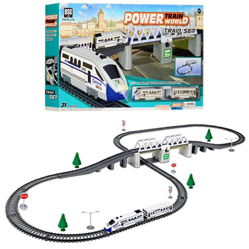 Детская железная дорога Power Train 2184, 366 см