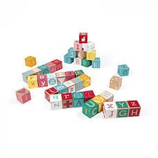 Кубики Janod Алфавит и цифры 40 шт. (J08077), фото 2