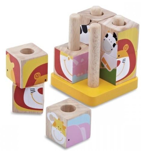 Кубики Wonderworld Сафари на подставках (WW-2513)