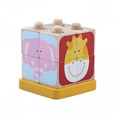 Кубики Wonderworld Сафари на подставках (WW-2513), фото 2