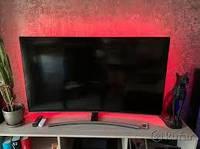 Неоновая лента 1,5 метра, 12 и 220 В. Подсветка интерьера неоновая, в доме, на кухне, в ванной. Цвет красный.