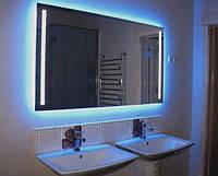 Неоновая лента 1,5 метра, 12 и 220 В. Подсветка интерьера неоновая, в доме, на кухне, в ванной. Цвет синий.