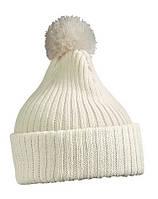 Вязаная шапка с помпоном 7540-10