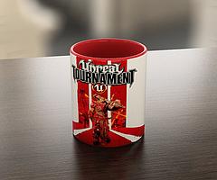 Кружка GeekLand Unreal Tournament Нереальный Туториал красная 02,01