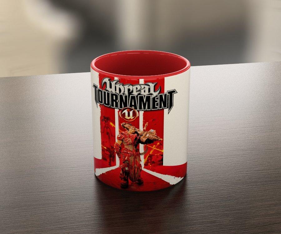 Кружка чашка Unreal Tournament