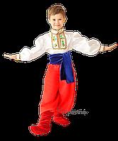 Детский украинский национальный костюм  для мальчика Код. 381