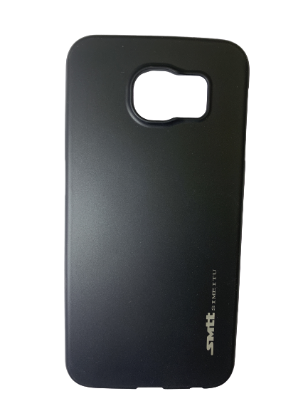 Захисний чохол-накладка smtt Soft Touch на Samsung S6 Чорний