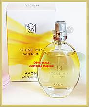 Туалетна вода Tutti Frutti Scent Essense Mix Avon для Неї, 30 мл