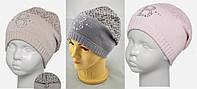 Зимняя шапка для девочки, JUNIOR ТМ Barbaras, Польша
