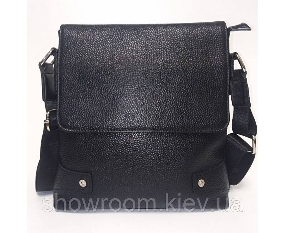 Мужская кожаная сумка на плечо Leather Collection (7858)