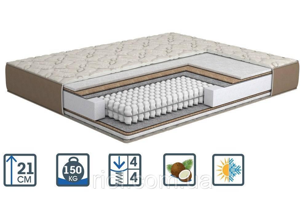 Ортопедичний матрац Cappuccino / Капучіно з блоком незалежних пружин від MatroLuxe