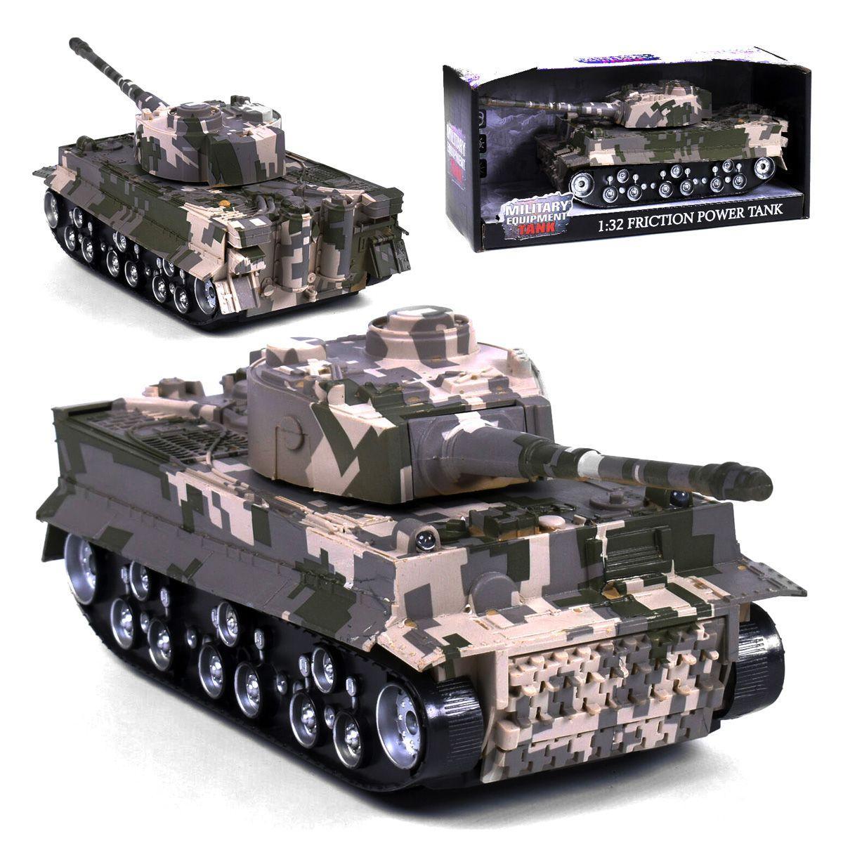 Танк Military Tank, инерционный