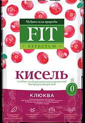 Кисель быстрорастворимый ФитПарад Fit Effectum пакет-саше вкус Клюква (30 грамм)