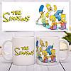 The Simpsons чашка