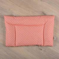 Подушка для немовлят тм Betis 40*60 см (кораловий)