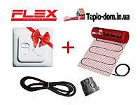 Нагревательный мат FLEX EHM - 175 / 4м / 2 м2 / 350 Вт с механическим RTC 70.26