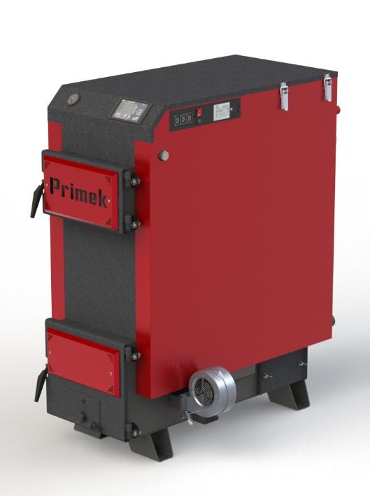 """Твердотопливный котел Kotlant Primek 40 кВт с электронной автоматикой """"TECH"""" с функцией ZPID"""