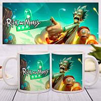 Чашка Rick and Morty