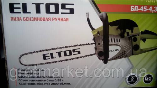 Бензопила ELTOS БП-45-4,3