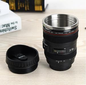 Термокружка / термочашка у формі об'єктива Canon 350 мл