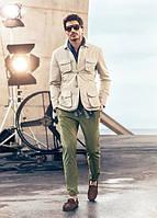 Куртка из плотного коттона  большой, стандартный размер, высокий рост, осень-весна. 42-74+ плюссайз батал, фото 1