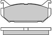 Тормозные  колодки задние дисковые MAZDA 626 IV (GE),XEDOS 6 (CA) (пр-во ABE C23007)