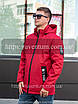Демисезонная мужская куртка от производителя    48-56 Красный, фото 3