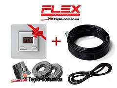 Тонкий електрический кабель для електрического пола FLEX EHM + Terneo ST в подарок